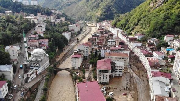 Giresun'daki sel felaketinde ölü sayısı 4'e yükseldi