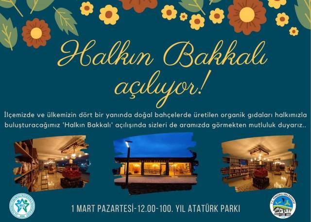 FINDIKLI BELEDİYESİ 'HALKIN BAKKALI'NI AÇIYOR