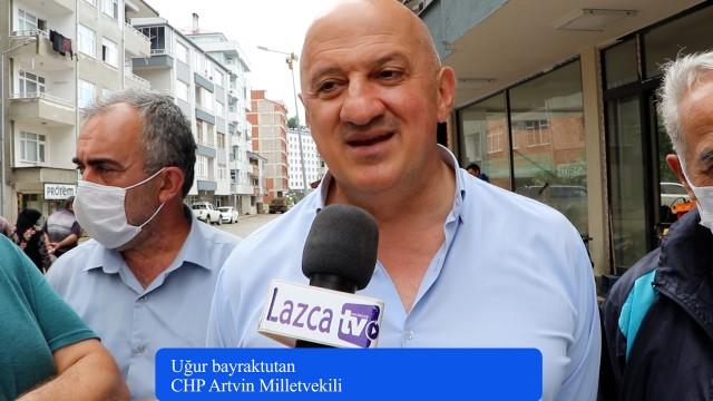 CHP Artvin Milletvekili Bayraktutan Lazca hakkında Lazca TV'ye Açıklamada Bulundu